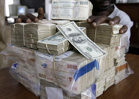 Zimbabwe-Dollars - コピー