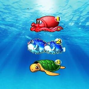 海物語リーチ目1・2・3真ん中ライン順目