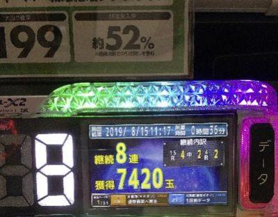 シンフォギア朝イチ0.5円パチンコ