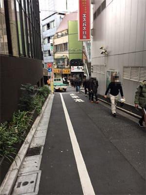 エスパス髙田馬場本店並び