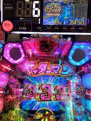 4円甘デジヤッターマン6連チャン目